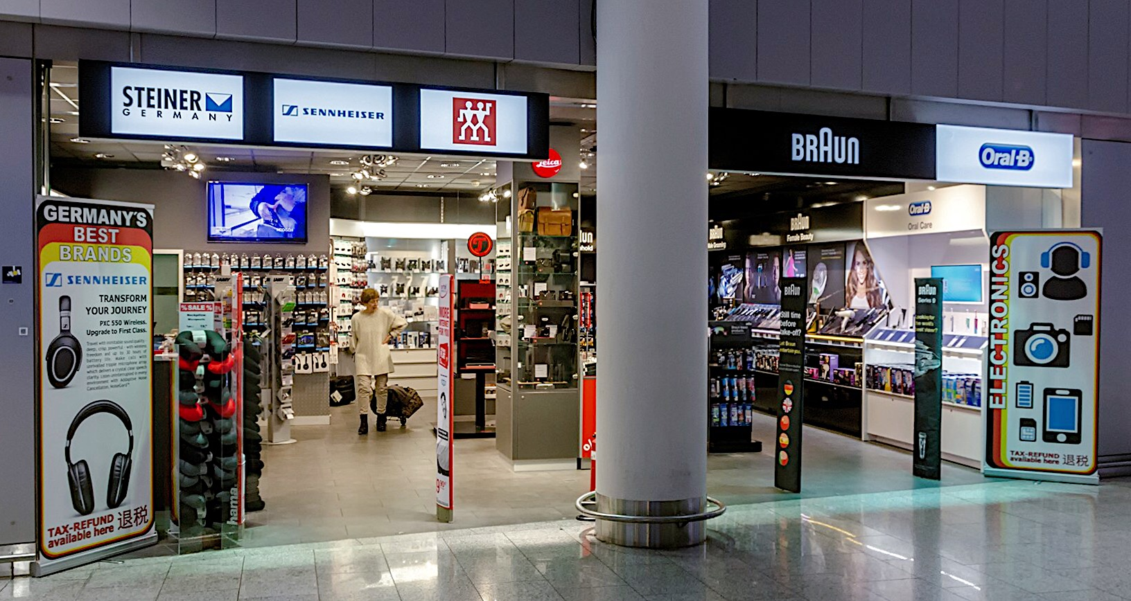 Flughafen Frankfurt Shopping